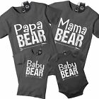 Mama Bear Papa Baby Bear Funny T Shirt Family Love Cute Mother Day Baby Gift 557