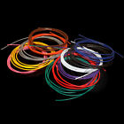 28AWG UL1007 Tinned Copper PVC Electronic wire cable (Black/Red//Blue/Green/Pink