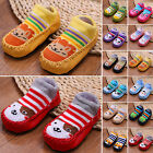 WOW Fashion Baby Kids Cartoon Shoes Toddler Anti-slip Boots Shoes Slipper Socks