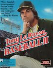 TONY LARUSSA BASEBALL 2 II  1Clk Windows 10 8 7 Vista XP Install