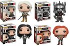 The Witcher III Wild Hunt Pop! Funko Vinyls New Triss Ciri Yennefer Eredin