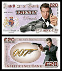 Pierce Brosnan - James Bond Novelty Banknotes