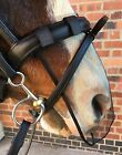 NOSE NET/MUZZLE NET CAVESSON/MICKLEM/GRACKLE - FOR HEADSHAKING - WITH ATTACHMENT