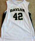 BAYLOR BEARS YOUTH BASKETBALL JERSEY NCAA #42 NEW! YOUTH SMALL, MED, LARGE OR XL