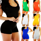 Jumpsuit Party Trousers Sleeveless V-Neck Women Romper Bodycon Playsuit Clubwear