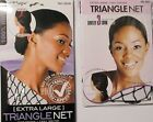 RAYON OR COTTON- TRIANGLE HAIR STYLING HAIR NET,RUN PROOF, LOCKSTITCHED