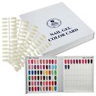 New Display Book 120 Nail Tip Colour Chart White With Tips For Nail Art Polishes