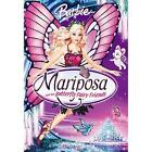 Barbie Mariposa (DVD, 2008)