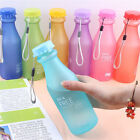 550ML BPA Free Leakproof Sport Water Bottle Portable Travel Healthy Drinking Cup