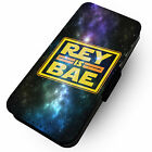 Rey Is Bae -Faux Leather Flip Phone Cover Case- Star Wars Finn Luke Force #1 £9.65 GBP on eBay
