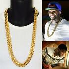 """20""""-30""""inch  14K YELLOW GOLD FILLED 15mm HEAVY  MIAMI CUBAN LINK CHAIN"""