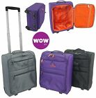 Wow Air Cabin Case Hand Luggage Trolley Bag Lightweight fits in 42x32x20cm