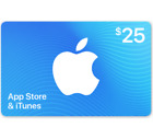 App Store & ITunes Gift Cards - $25 $50 $100 (Email-Delivery) For Sale