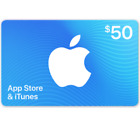 App Store &amp; iTunes Gift Cards - $25 $50 or $100 (Email-Delivery) <br/> US Only. May take 4 hours for verification to deliver.