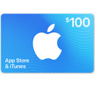 App Store & iTunes Gift Cards - $25 $50 $100 (Email-Delivery)