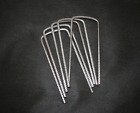 Metal Pegs U Pins  Grass Protection Mesh Mat Fixings 180mm x 80mm x 180mm