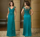 Green Lace Appliques Mother Of The Bride Dresses Plus Size Crystal Gowns HD280