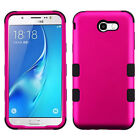 Samsung GALAXY J7 V Sky Pro Perx HYBRID Shockproof Armor Rubber Hard Case Cover