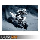 ATV RACING (AC033) ATV POSTER - Photo Picture Poster Print Art A0 A1 A2 A3 A4