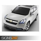 CHEVROLET ORLANDO (AD346) CAR POSTER - Photo Picture Poster Print Art A0 to A4