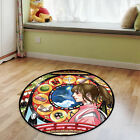 Spirited away Circle Anime Velboa Floor Rug Carpet Room Doormat Non-slip Mat #3