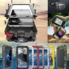 Aluminum Shockproof Waterproof Metal Glass Case Cover For iPhone 7 6s Plus 5S SE