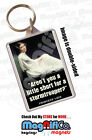 Novelty Key Ring - Star Wars Inspired Princess Leia Quotes - Carrie Fisher