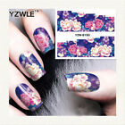New Flower Water Transfer Decal Stickers For Nail Art Decoration, Free Post, UK