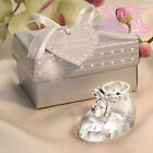 Crystal Baby Shoe - Wedding / Party Favours | Baptisms Christenings Confirmation