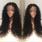 Human Hair Long Loose Curly 100% Remy Indian Human Hair Full/Front Lace Wigs