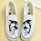Pure Hand-painted Art canvas shoes fit for Children Girl Boy Women Men 81 Styles