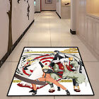Naruto Jiraiya Circle Anime Velboa Floor Rug Carpet Room Doormat Non-slip Mat 14