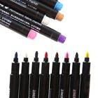 8 Multicolors Permanent Fabric Marker Pens T-Shirt Cloth Shoes Textile Paint DIY