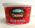 Red Chile Puree, Hot or Mild, NEW MEXICO GROWN GUARANTEED, 6-Pack 14oz. Tubs
