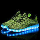 New Men Women Light Up Shoes Sneakers LED Flashing Trainers Lace Up Casual Shoes