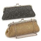 Sparkly Crystal Diamante Evening Clutch Bag Proms