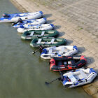 2-4 Person Inflatable Dinghy Boat /Outboard boat engine/ trolling motor/ Tool