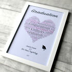 Graduation Gift Frame Photo School Leavers Class Print Present Year University
