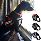 Reflective Service Dog In Training Removable Patches Harness Vest for Large Dogs
