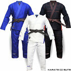Karate Suits Gi Uniform Martial Arts BJJ (Brazilian Jiu Jitsu) White/Blue/Black