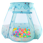 Tent Pool Game Hut House Children 120*90*70CM Baby Play Pool Folded Portable