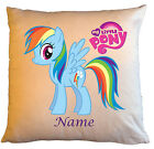 """Personalised Cushions 14"""" or 18"""" - My Little Pony - Named - Style 7"""