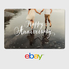 eBay Digital Gift Card - Anniversary Holding Hands-  Fast email delivery