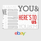 eBay Digital Gift Card - Anniversary Here's To Us- Fast email delivery