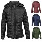 Kids Puffer Quilted Girls Padded Boys Childrens Puffa Bubble Hooded Jacket Coat