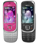 Nokia 7230 Slide 3G Unlocked mobile phone 3.2MP  Bluetooth Black& Hot pink