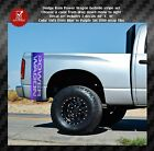 Dodge Ram 1500 2500 truck bed side decals graphics decals power wagon