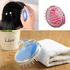 New Plastic Soft Massage Hair Brush Body Brush Combs Shampoo Scalp Scrubber Care