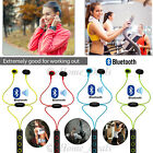 Wireless Bluetooth 4.2 Sports Headphone Earphones Mic For iPhone iPod Samsung LG