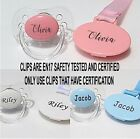 PERSONALISED DUMMY AVENT *CAN BE STERILISED* SOOTHER, PACIFIER, DUMMY CLIP,